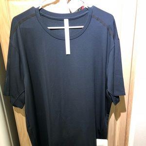 Lululemon NWT athletic shirt XXL Blue